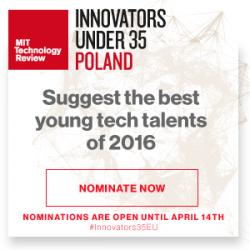 Druga polska edycja konkursu Innovators Under 35