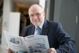 prof UAM dr hab Jacek Gulinski - dyrektor PPNT prezes Fundacji UAM