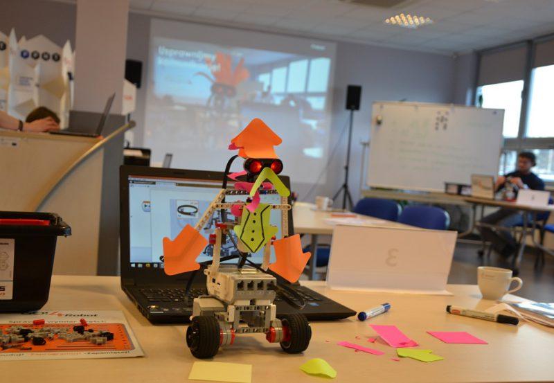 Warsztaty z robotami dla firm - komunikacja i budowanie zespołu