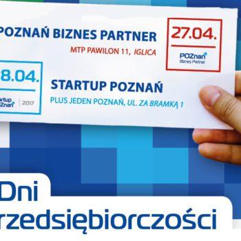 Będziemy na Dniach Przedsiębiorczości Poznań