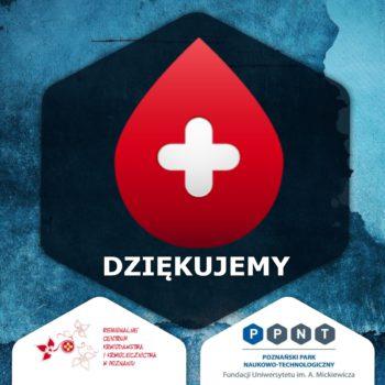 Akcja krwiodawstwa w PPNT – dziękujemy!