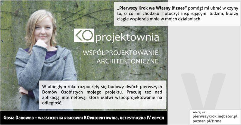 PPNT Poznan - Pierwszy krok we własny biznes - KOprojektownia