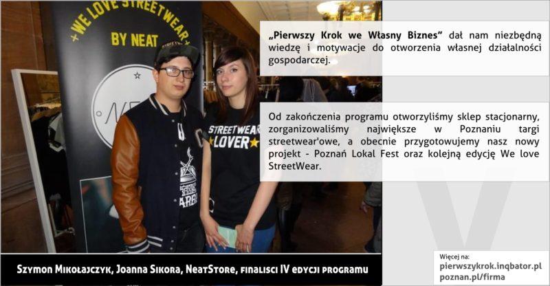 PPNT Poznan - Pierwszy krok we własny biznes - NeatStore