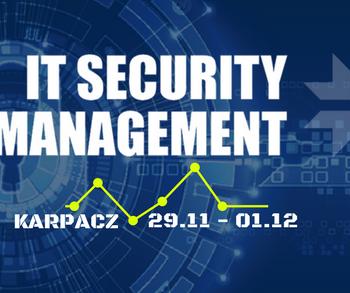 Konferencja IT Security Management