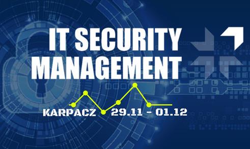 20171011_udzial w konferncji IT security menagement