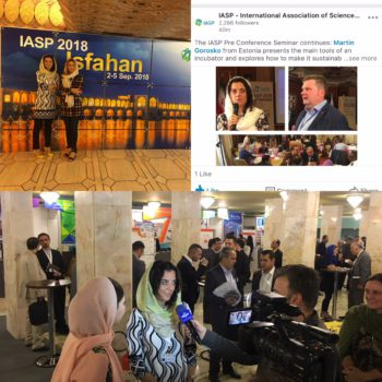 PPNT representatives at IASP World Conference