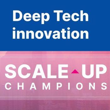 Deep Tech innovation in EU. Webinar
