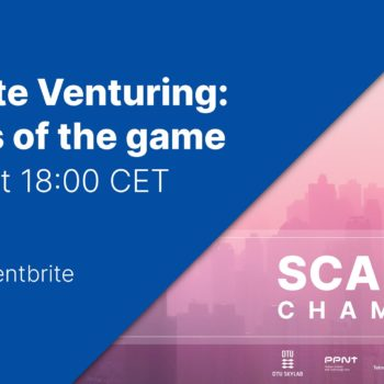 Webinar Corporate venturing: the rules of the game 04.06