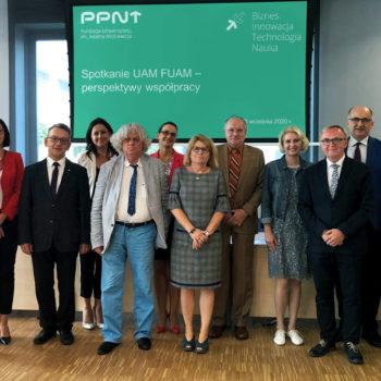 Wizyta Władz Rektorskich UAM – perspektywy współpracy