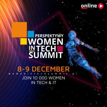 Perspektywy Women in Tech Summit – zaproszenie na wydarzenie