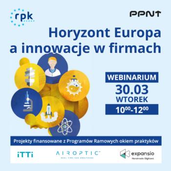 Rozwijaj innowacje w swojej firmie z Horyzontem Europa i korzystaj ze wsparcia ekspertów RPK Poznań