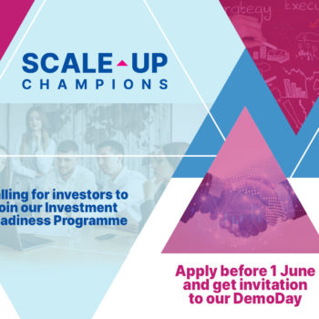 Open call for investors to participate in our Investment Readiness Programme and join our Demo Day on 1 June!