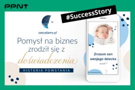 Pomysł na biznes, który zrodził się z doświadczenia – historia Zasypiamy.pl