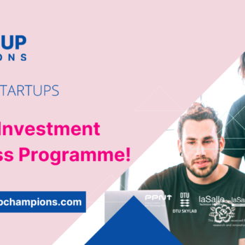 Scale-up Champions launches call for its last Investment Readiness Programme