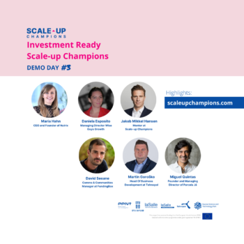 THIRD INVESTMENT READY DEMO DAY