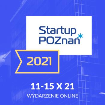 Eksperci PPNT Prelegentami na Startup Poznań 2021!