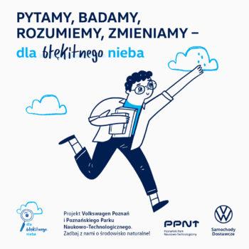 Poznański Park Naukowo-Technologiczny i Volkswagen Poznań łączą siły w walce o czyste powietrze